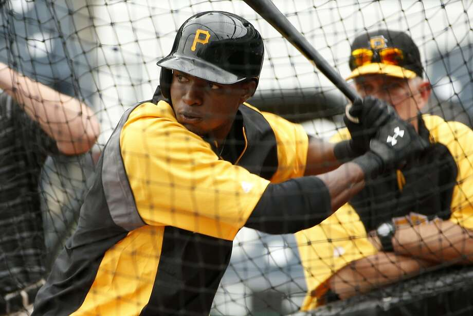 Pirates outfielder Gregory Polanco, 22, was called up after batting .347 with 49 RBIs in 62 International League games. Photo: Gene J. Puskar, Associated Press