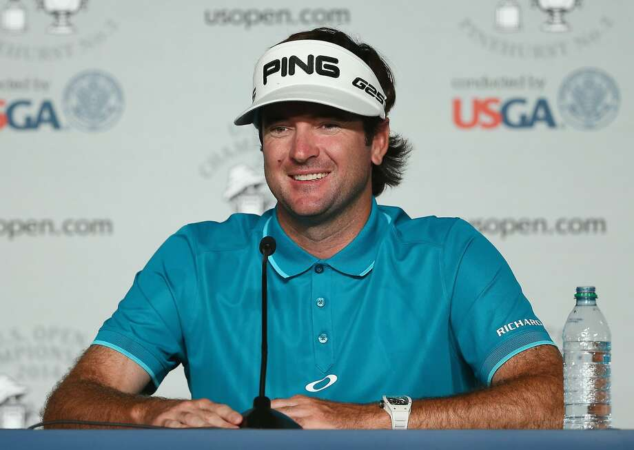 Bubba Watson plans to ease up on his monster drives to better position himself. Photo: Tyler Lecka, Getty Images
