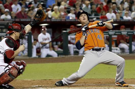 June 10: Diamondbacks 4, Astros 1  Paul Goldschmidt got the party started for Arizona with a solo homer in the 1st inning and Bronson Arroyo took it from there as the Diamondbacks split the two-game series.  Record: 29-37. Photo: Ross D. Franklin, Associated Press
