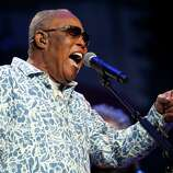 Sam Moore of Sam & Dave is still an active performer. His partner, David Prater, died in a single-car collision in 1988. Here, Moore sings at Marty Stuart's 13th Annual Late Night Jam at the Ryman Auditorium on June 4, 2014 in Nashville, Tennessee.
