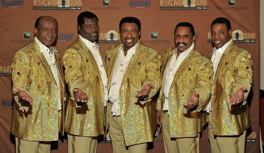 While The Temptations have lost members to retirement, natural causes and suicides over their lifespan, the singing group as a concept has remained intact and continues to perform today. Here, The Temptations attend the Homeward Bound Telethon at the American Legion Hall #43 on November 10, 2013 in Los Angeles. Photo: John M. Heller, Getty / 2013 John M. Heller