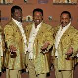 While The Temptations have lost members to retirement, natural causes and suicides over their lifespan, the singing group as a concept has remained intact and continues to perform today. Here, The Temptations attend the Homeward Bound Telethon at the American Legion Hall #43 on November 10, 2013 in Los Angeles.