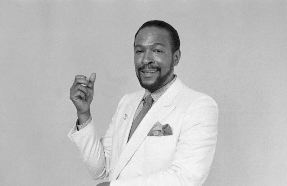 Marvin Gaye was killed on April 1, 1984 after his father fatally shot him. Here he is photographed posing on March 26, 1983, about one year before his untimely death.  Photo: NBC, Getty / © NBC Universal, Inc.