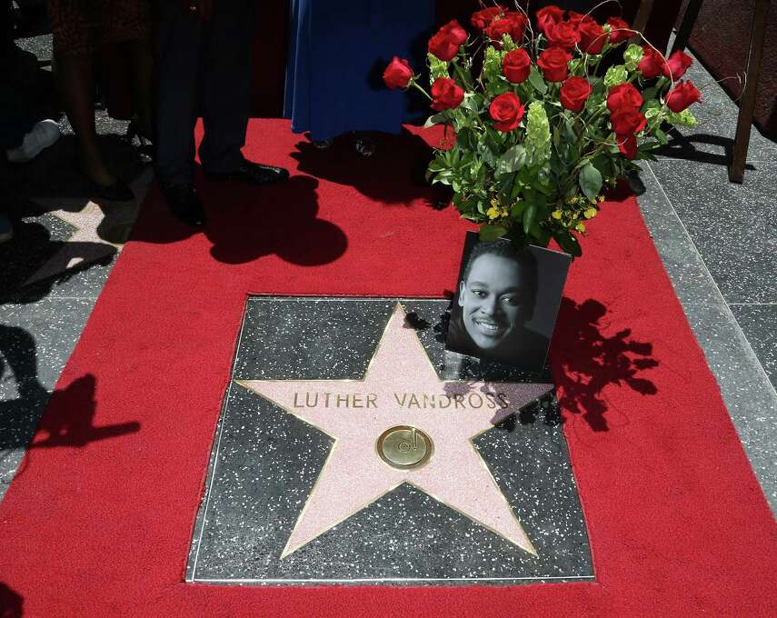 Singer Luther Vandross died of a heart attack in 2005. He was honored posthumously with a Star on the Hollywood Walk of Fame with flowers from Aretha Franklin on June 3, 2014 in Hollywood, California. Photo: David Livingston, Getty / 2014 David Livingston