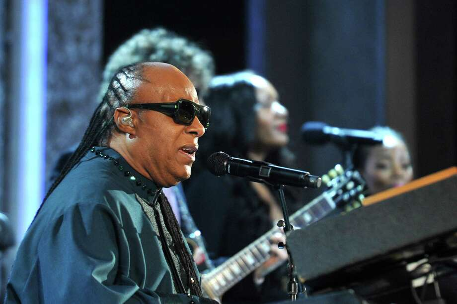 Stevie Wonder still performs today. Here, he performs during the 45th NAACP Image Awards presented by TV One at Pasadena Civic Auditorium on February 22, 2014 in Pasadena, California. Photo: John Sciulli, Getty / 2014 Getty Images
