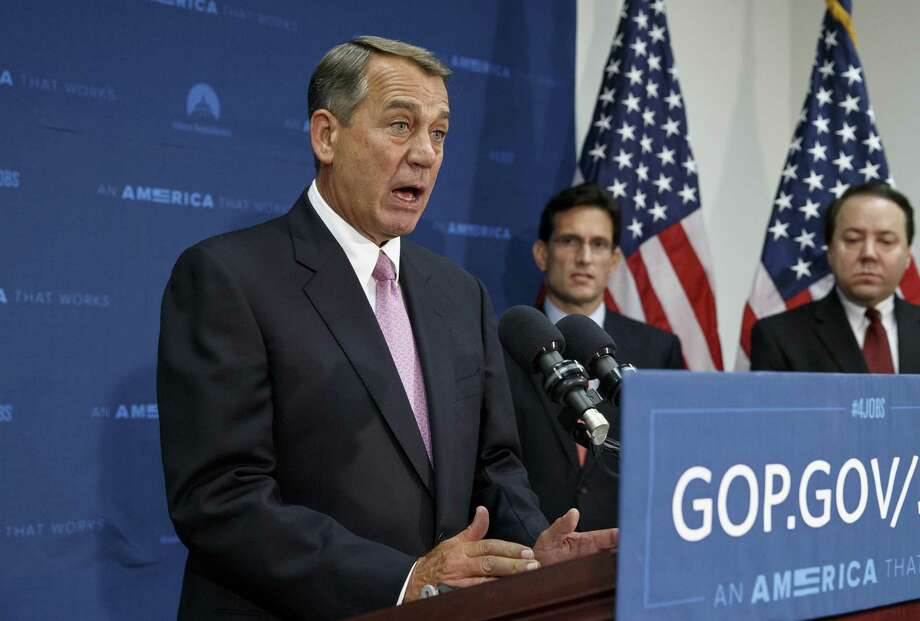 """House Speaker John Boehner, commenting on the troubled VA health care system, said, """"We have a systemic failure of an entire department of our government."""" Photo: J. Scott Applewhite / Associated Press / AP"""