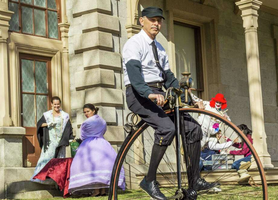 Norwalk's Lockwood-Mathews Mansion Museum hosts its annual Victorian Ice Cream Social on Sunday, June 22. Entertainment and games will be featured, and costumed participants will discuss traditions of the past. Grounds admission is free. Photo: Contributed Photo / Connecticut Post Contributed