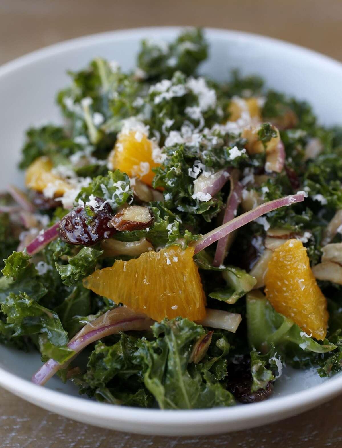 Bosta Wine & Coffee Cuisine: Contemporary American Dish: marinated Kale Salad Entree price range: $ Where: 1801 Binz, Suite 130 Phone: 713-533-9560 Website: bostahouston.com
