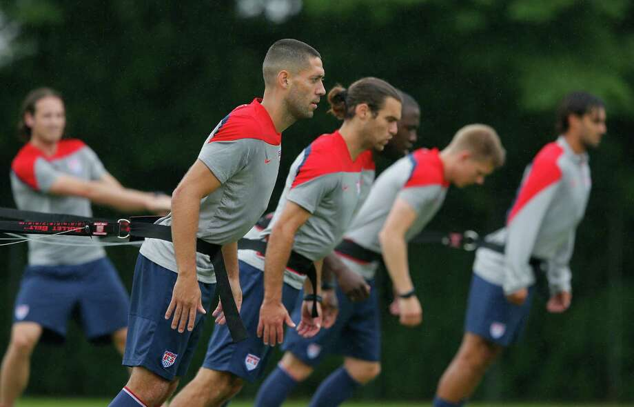 Clint Dempsey, left, and the U.S. team open Group G play against Ghana on Monday evening in Natal. Ghana eliminated the Americans four years ago. Photo: Kevin C. Cox, Staff / 2014 Getty Images