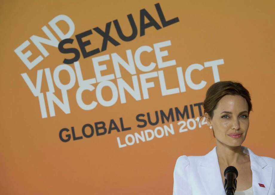 Actress Angelina Jolie says that actions need to be taken so soldiers no longer feel they have impunity to commit sexual assault in war zones. Photo: Stefan Rousseau, SUB / PA