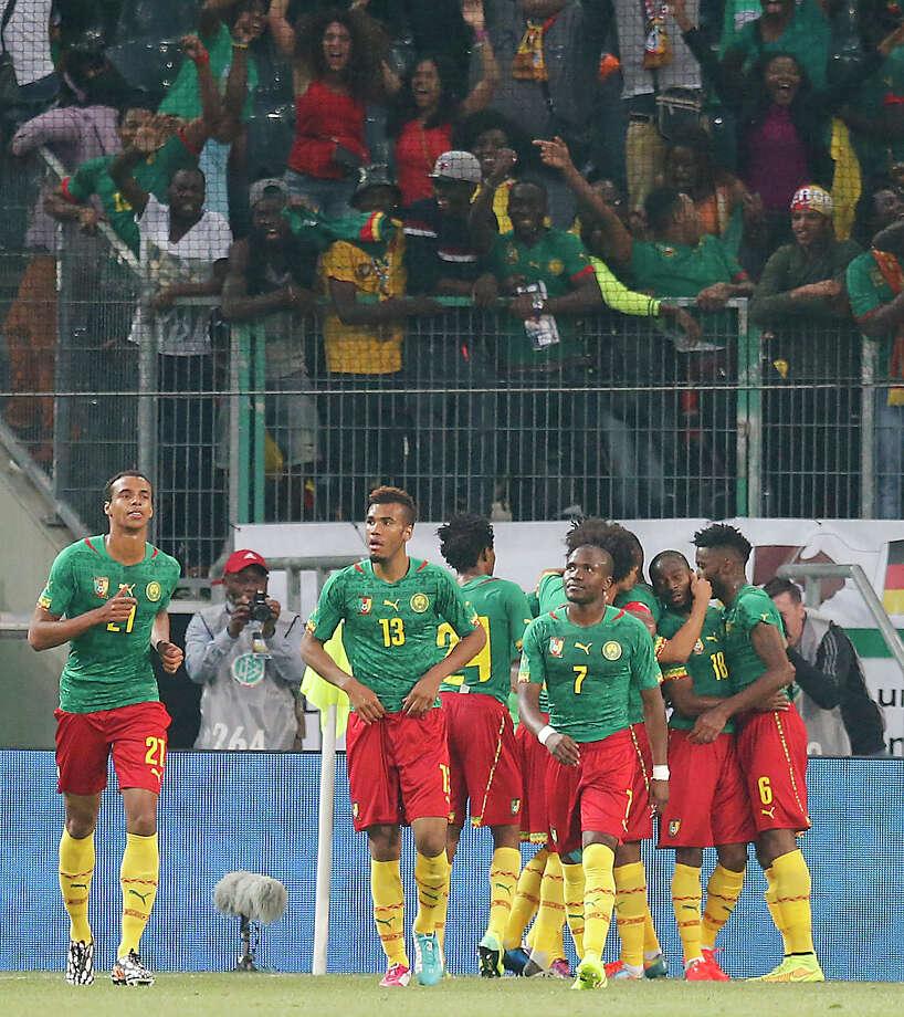 CameroonOdds: 500/1 Photo: Frank Augstein, Associated Press / AP