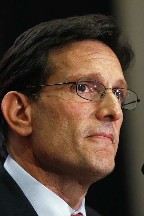 Eric Cantor's defeat was a major blow to the Republican Party. / AP