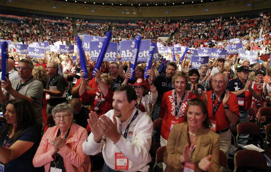 Not all of the delegates cheered everything that happened at the state GOP convention, which was held in Fort Worth. Photo: Rodger Mallison / Fort Worth Star-Telegram / Fort Worth Star-Telegram