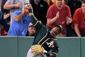 Top plays of 2014: Yoenis Céspedes' amazing throw - Photo