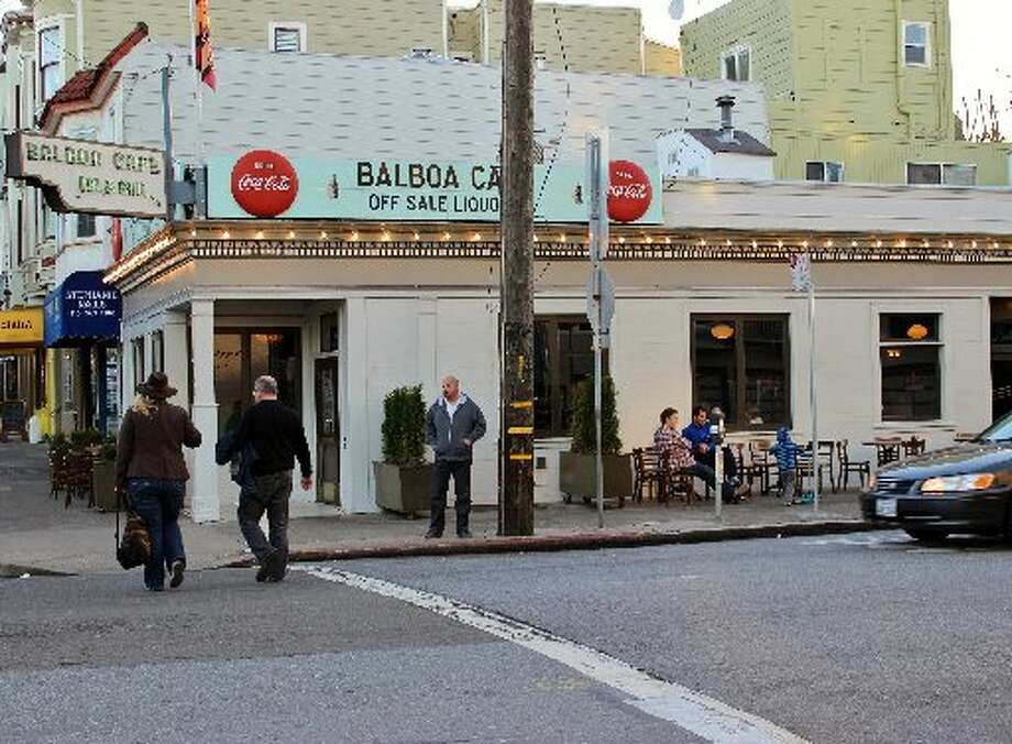 The Balboa Cafe has been in business 101 years. Photo: Stephanie Wright-Hession, Special To The Chronicle