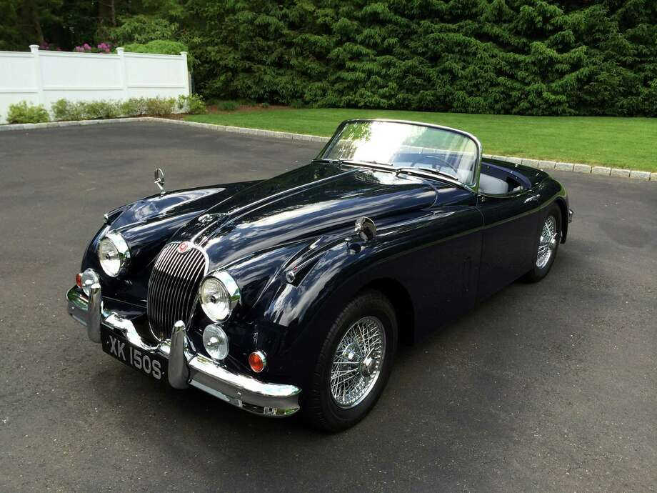 David Porter's 1958 Jaguar XK150S OTS will be among the classic vehicles on display at the Darien Collectors' Car Show Sunday, June 15, at Tilley Pond Park. Photo: Contributed Photo, Contributed / Darien News