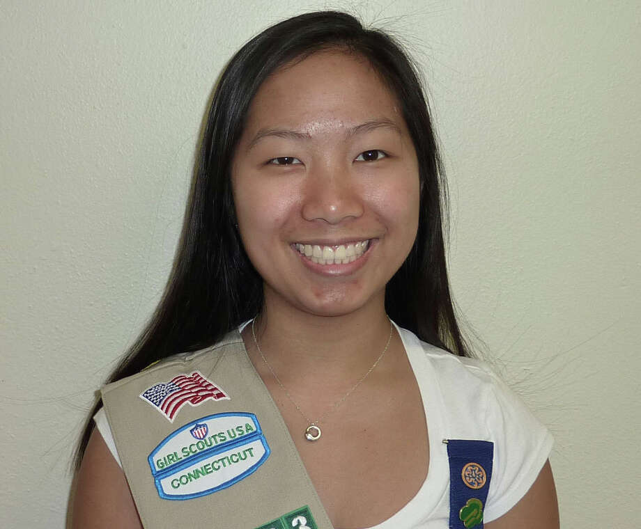 Victoria Eng, of Darien, earned the Girl Scout Gold Award, the highest honor in Girl Scouting. Photo: Contributed Photo, Contributed / Darien News