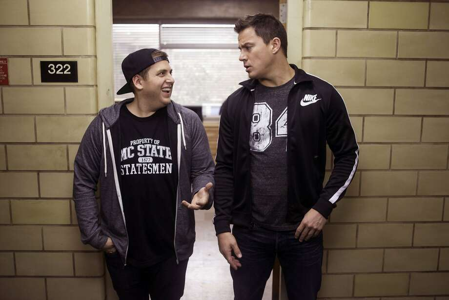 "Jonah Hill (left) and Channing Tatum in ""22 Jump Street."" Photo: Glen Wilson, Associated Press"