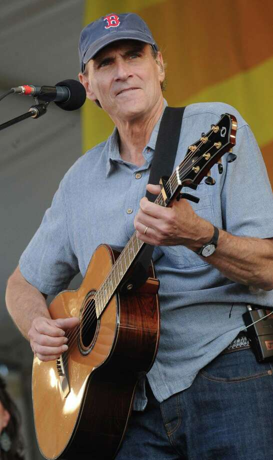 James Taylor performs Saturday at Woodlands Pavilion in The Woodlands. Photo: Rick Diamond, Staff / Getty Images North America