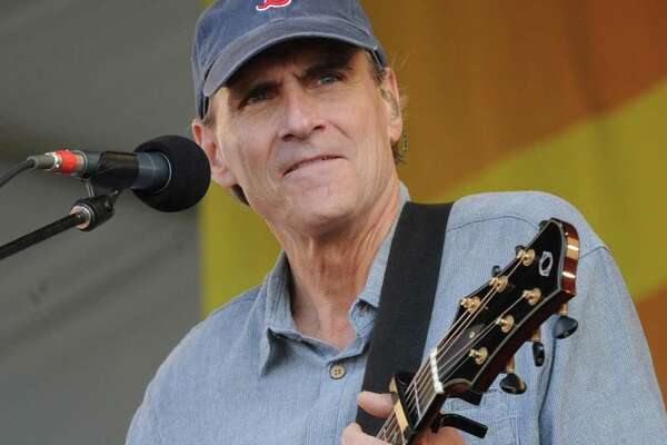 James Taylor performs Saturday at Woodlands Pavilion in The Woodlands.
