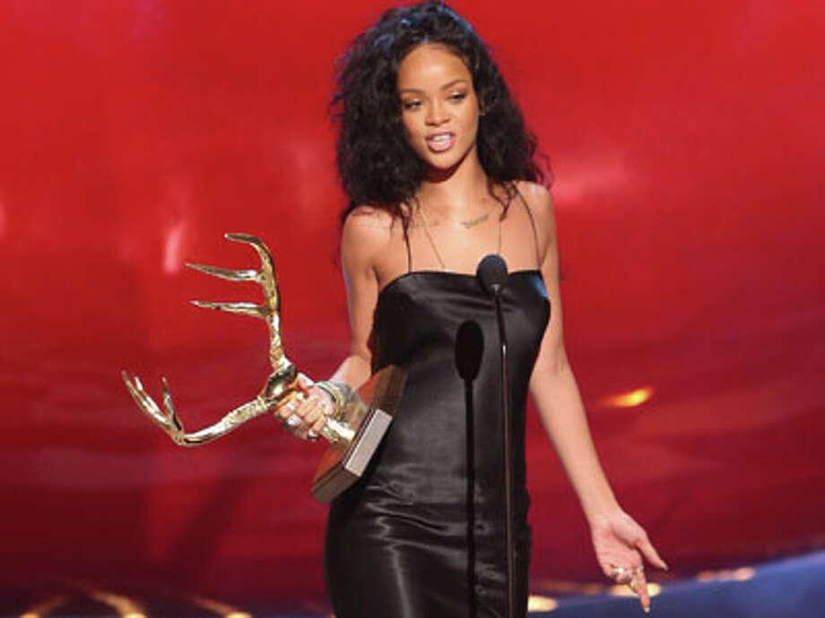 # 8 Rihanna Photo: Paul A. Hebert / Invision