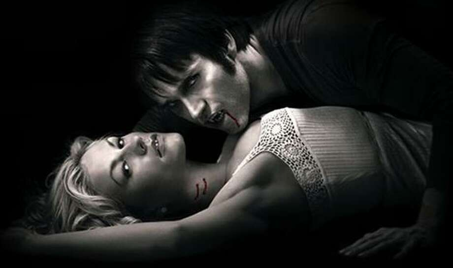 The sexy vampire series, 'True Blood,' is based on Charlaine Harris's 'The Southern Vampire Mysteries' series of novels. 'True Blood's' final season begins this summer on HBO. Photo: HBO