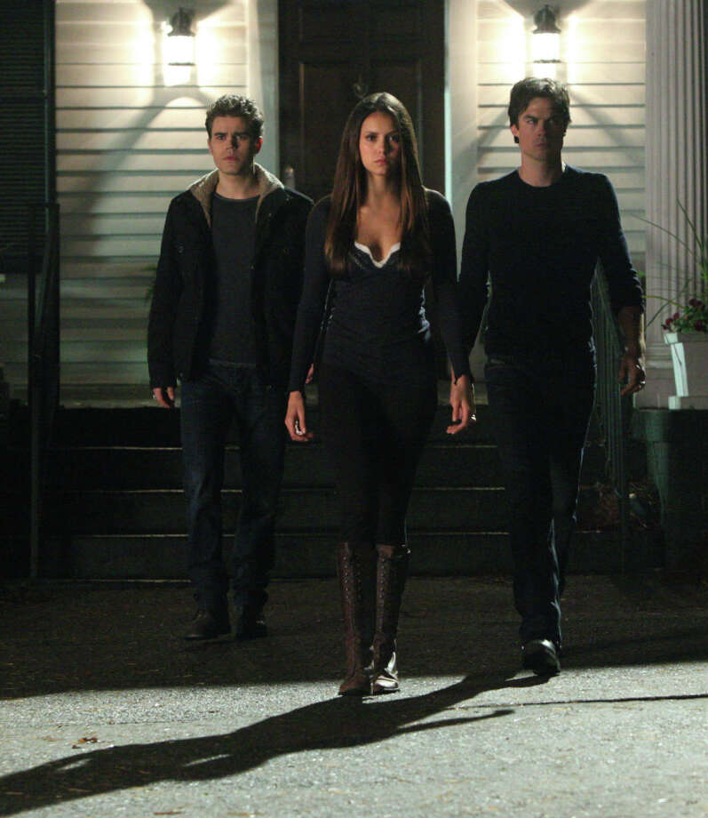 'The Vampire Diaries' on The CW is based on L. J.  Smith's young adult novel series of the same name. Photo: Annette Brown, The CW / ©2013 The CW Network. All Rights Reserved.