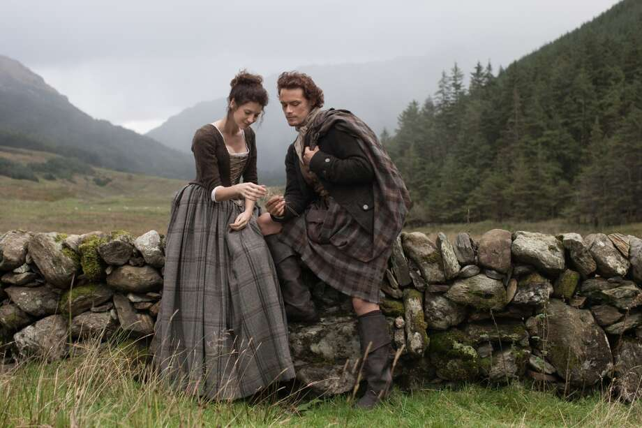 Upcoming Starz series, 'Outlander' is based on Diana Gabaldon's popular time-traveling romance series of the same name. Photo: Nick Briggs, © 2014 Sony PicturesTelevision