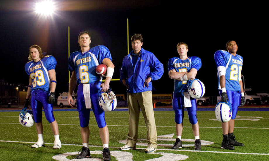 'Friday Night Lights' the NBC television series was based on 'Friday Night Lights' the movie which was based on 'Friday Night Lights: A Town, a Team and a Dream,' the nonfiction account of Texas high school football in a small town by author H.G. Bissinger. Photo: PAUL DRINKWATER, NBC / NBC