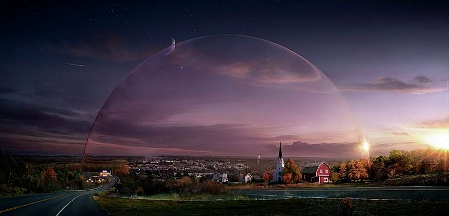Also based on a Stephen King novel is 'Under the Dome' on CBS. The series will venture past where the novel ended in upcoming seasons. Photo: CBS, ©2013 CBS Broadcasting Inc. All Rights Reserved / ¨©2013 CBS Broadcasting Inc. All Rights Reserved
