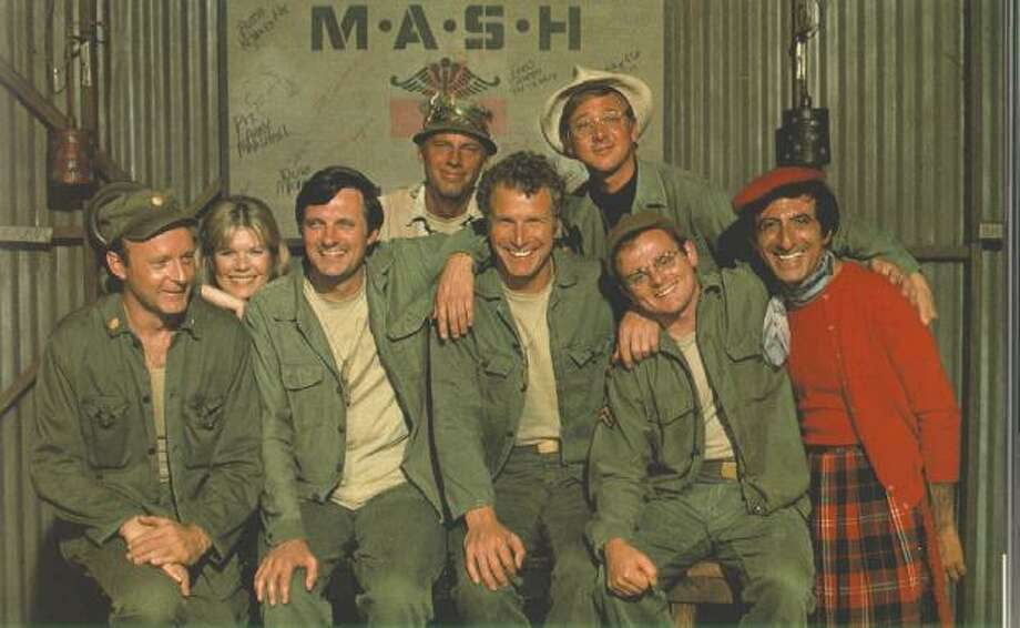 Most people know that classic sitcom 'M*A*S*H*' was based on the Robert Altman film of the same name, but both the film and the TV series were based on Richard Hooker's novel 'MASH: A Novel About Three Army Doctors.' Photo: CBS