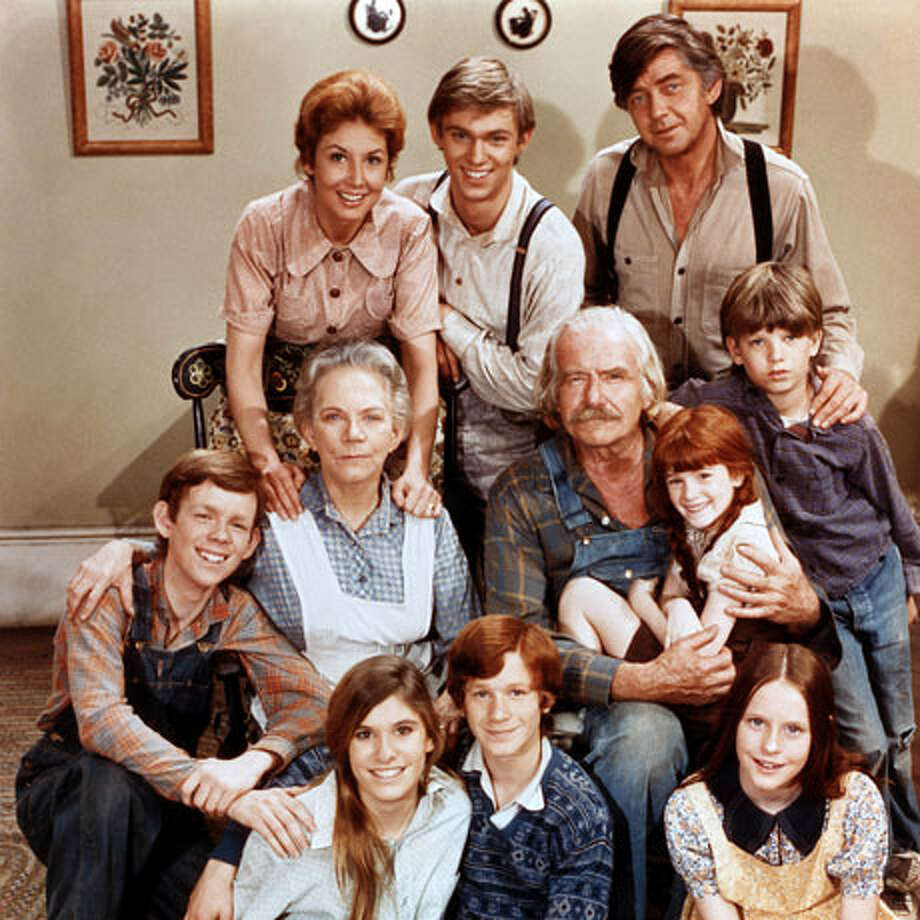 CBS's classic 1970s family drama,  'The Waltons,' was based on Earl Hammer Jr.'s novel, 'Spencer's Mountain,' and a 1963 film of the same name. Photo: CBS / © Pictorial Press Ltd / Alamy