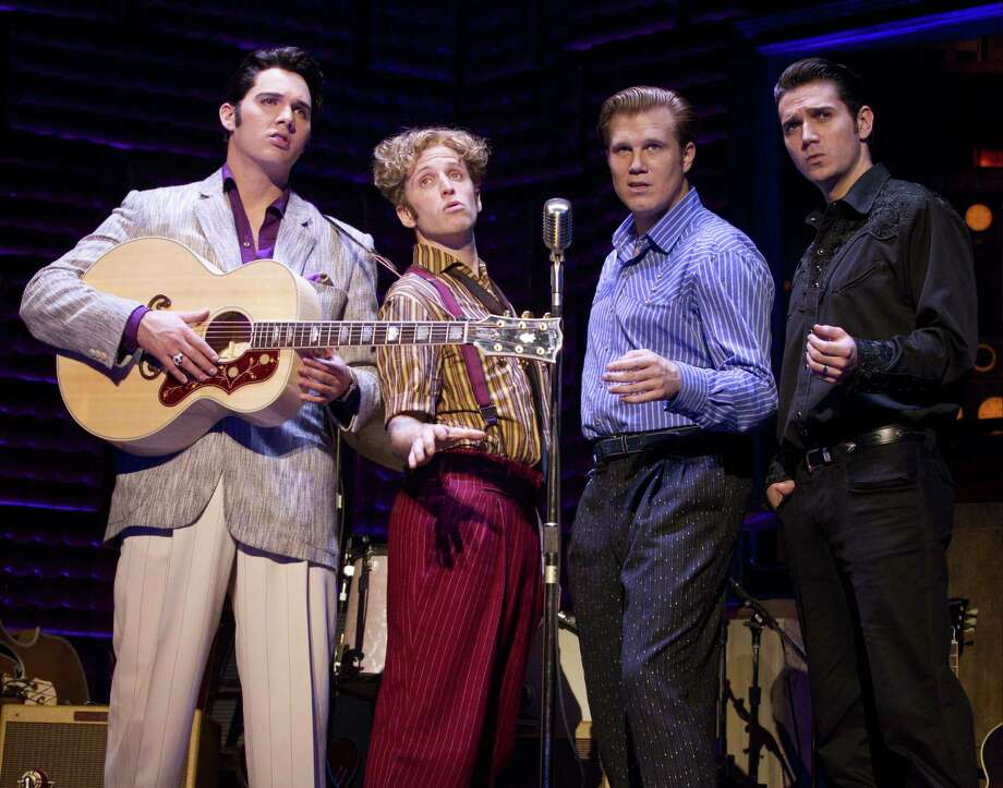 """Million Dollar Quartet""July 12-17Enjoy the smash-hit musical that was inspired by the famed recording session that brought together Elvis Presley, Johnny Cash, Jerry Lee Lewis, and Carl Perkins for the first -and only- time.Where: Miller Outdoor Theatre, 6000 Hermann Park Dr.When: 8:15 p.m.Tickets: FREEInformation: milleroutdoortheatre.com/events/808 Photo: Joan Marcus / ©2011 Joan Marcus"