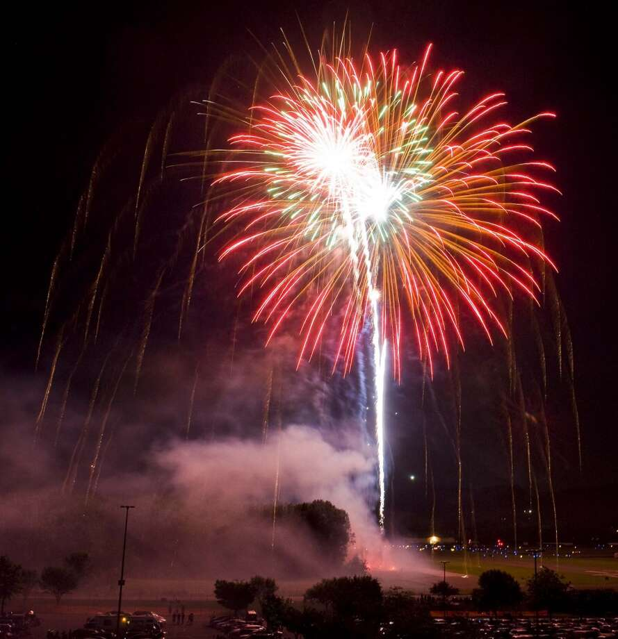 The Danbury Fair Mall Annual Fireworks Show has been postponed to Saturday, July 5. Photo: Scott Mullin