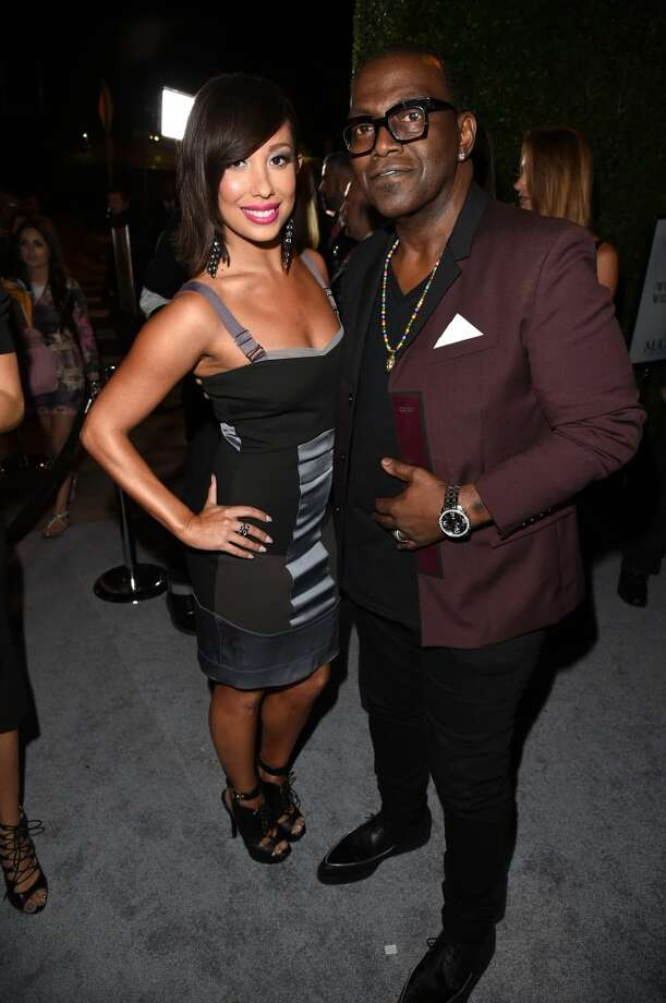 Dancer Cheryl Burke (L) and TV personality Randy Jackson attend Maxim's Hot 100 Women of 2014 celebration and sneak peek of the future of Maxim at Pacific Design Center on June 10, 2014 in West Hollywood, California. Photo: Jason Merritt, Getty Images For MAXIM