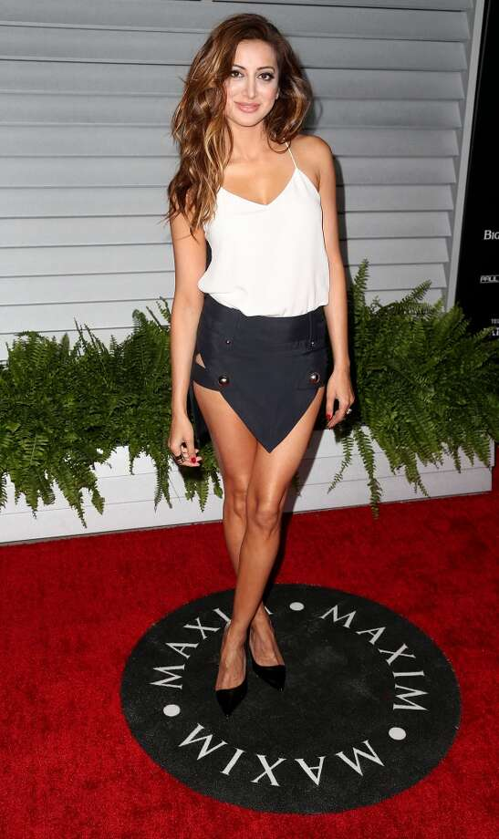 Actress Noureen DeWulf attends Maxim Hot 100 Event at the Pacific Design Center on June 10, 2014 in West Hollywood, California. Photo: Frederick M. Brown, Getty Images