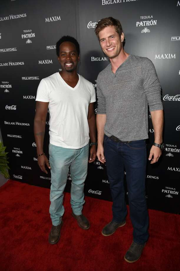 Actors Harold Perrineau (L) and Ryan McPartlin attend Maxim's Hot 100 Women of 2014 celebration and sneak peek of the future of Maxim at Pacific Design Center on June 10, 2014 in West Hollywood, California. Photo: Jason Merritt, Getty Images For MAXIM