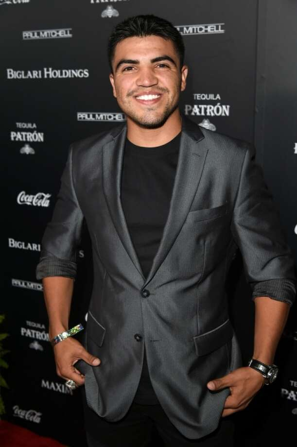 Boxer Victor Ortiz attends Maxim's Hot 100 Women of 2014 celebration and sneak peek of the future of Maxim at Pacific Design Center on June 10, 2014 in West Hollywood, California. Photo: Jason Merritt, Getty Images For MAXIM