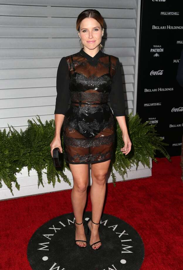 Actress Sophia Bush attends Maxim Hot 100 Event at the Pacific Design Center on June 10, 2014 in West Hollywood, California. Photo: Frederick M. Brown, Getty Images