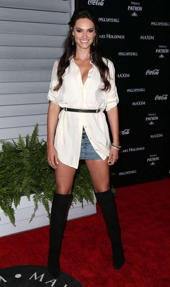 Model Lisalla Montenegro attends Maxim Hot 100 Event at the Pacific Design Center on June 10, 2014 in West Hollywood, California. Photo: Frederick M. Brown, Getty Images