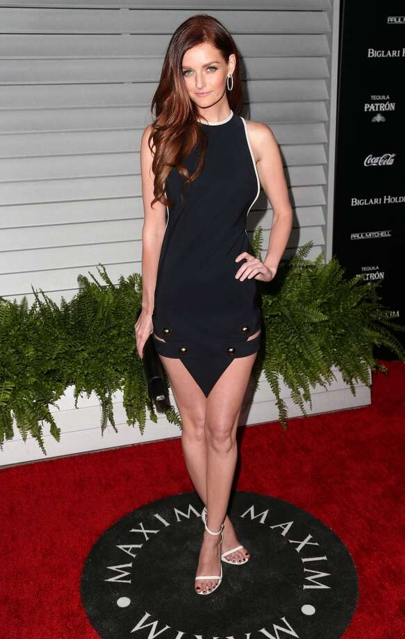 Model Lydia Hearst-Shaw attends Maxim Hot 100 Event at the Pacific Design Center on June 10, 2014 in West Hollywood, California. Photo: Frederick M. Brown, Getty Images