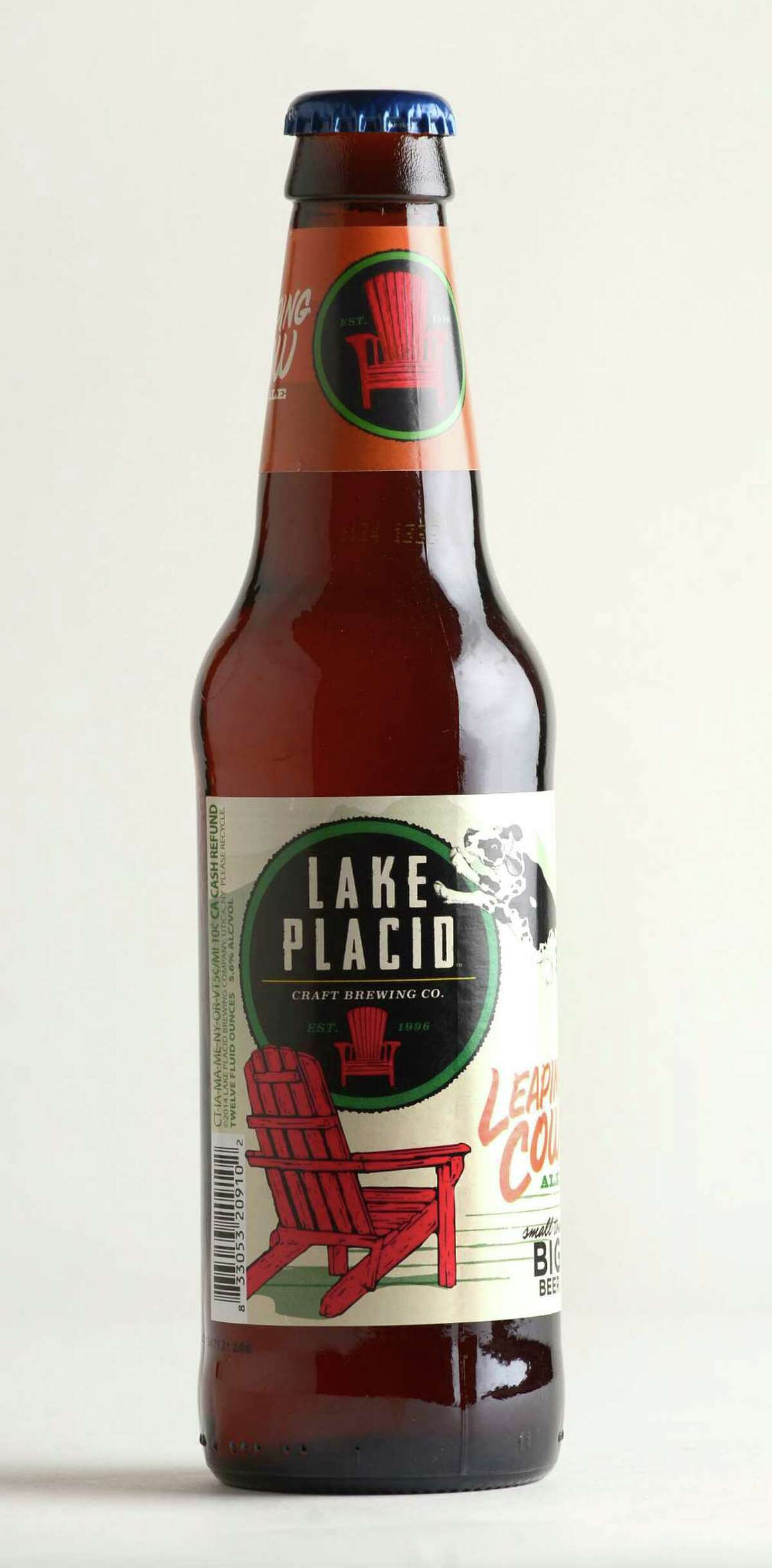 Lake Placid beer Friday, June 6, 2014, at the Times Union in Colonie, N.Y. (Selby Smith / Special to the Times Union)