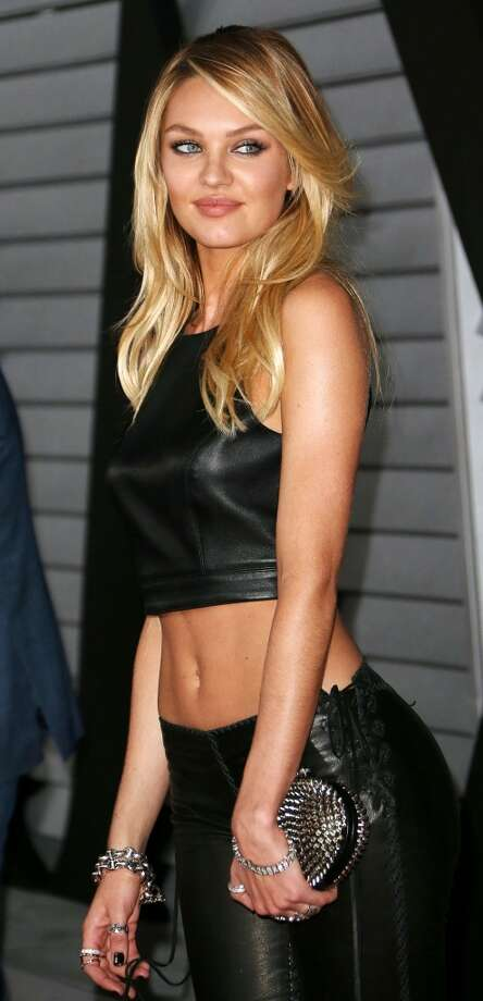 Candice Swanepoel was picture-perfect at a Maxim event in 2014 in West Hollywood, California. But it was a different story during New York Fashion Week on Friday. Photo: Frederick M. Brown, Getty Images