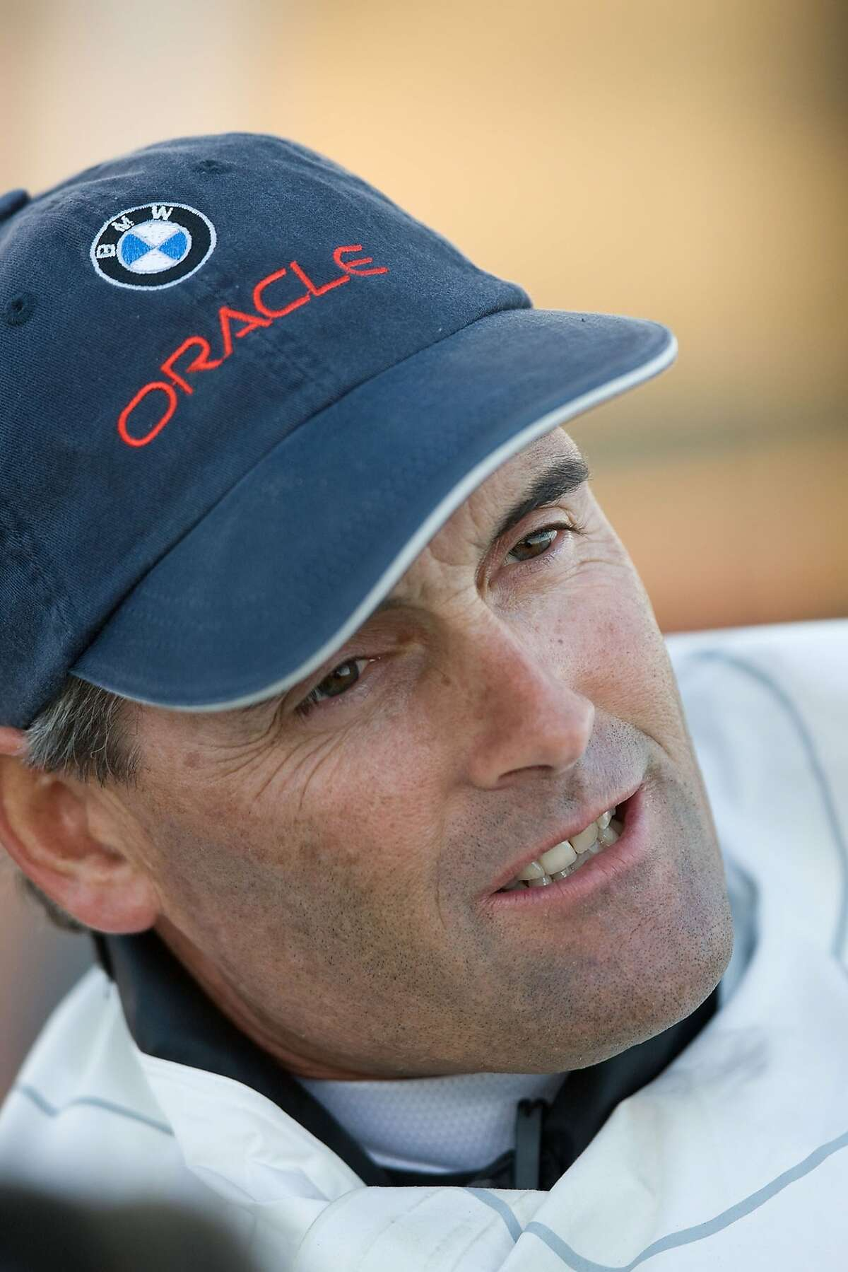 Undated handout picture of Russell Coutts, the captain and chief executive officer of Larry Ellison's San Francisco-based BMW Oracle Racing team.