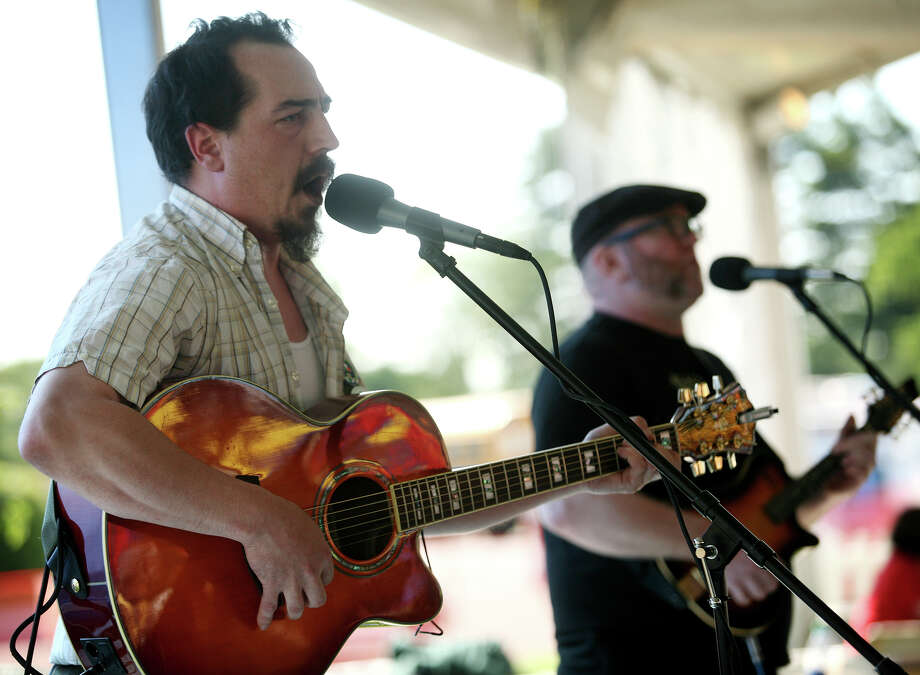 The Alehounds, an Irish band from New Haven, will be the opening act in the Pub Tent on Friday evening at the Fairfield County Irish Festival on the Fairfield University campus. The celebration of Irish culture continues through 8 p.m. Sunday. Photo: Brian A. Pounds / Connecticut Post