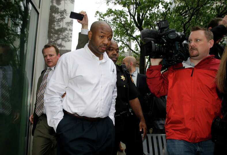 Kevin Roper leaves a court appearance Wednesday, June 11, 2014, in New Brunswick, N.J. Roper, a Wal-