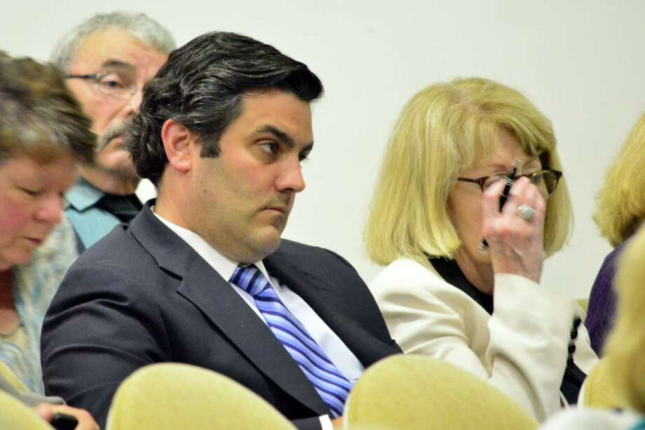 Director of Finance Mike Feeney was in attendance at the Representative Town Meeting Monday as it approved the special appropriation of $807,00 to pay for the unexpected costs incurred following the March 2013 special education complaint. Photo: Megan Spicer / Darien News