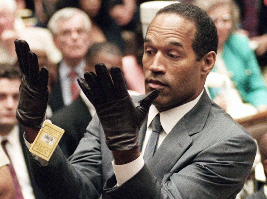 1. O.J. People died. The Bronco, Kato Kaelin, Oliver Darden. This was the all-timer. Photo: Vince Bucci, Associated Press
