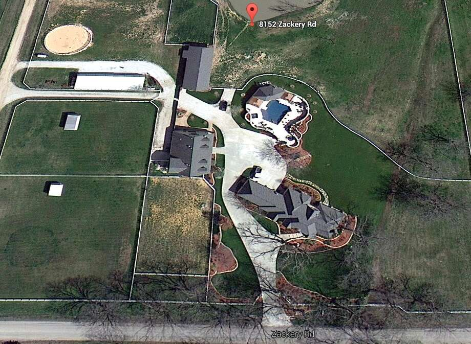 The family who owns the home on Lake Whitney also owns this home in Aubrey, Texas, according to property records. Photo: Google Maps