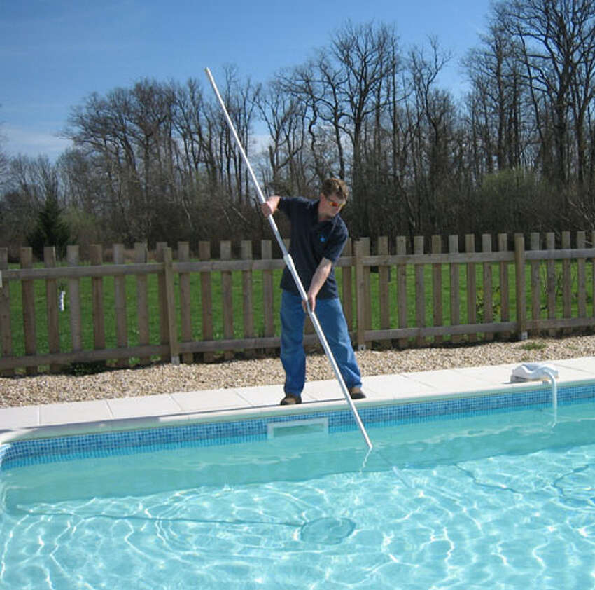 In theory it seems like a good idea since cleaning the pool is dad's job but who wants to make him work on his special day?